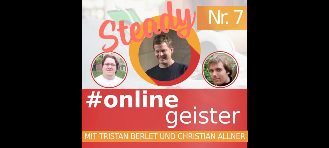 Crowdfunding — #Onlinegeister Nr. 7 (Netzkultur-Podcast)