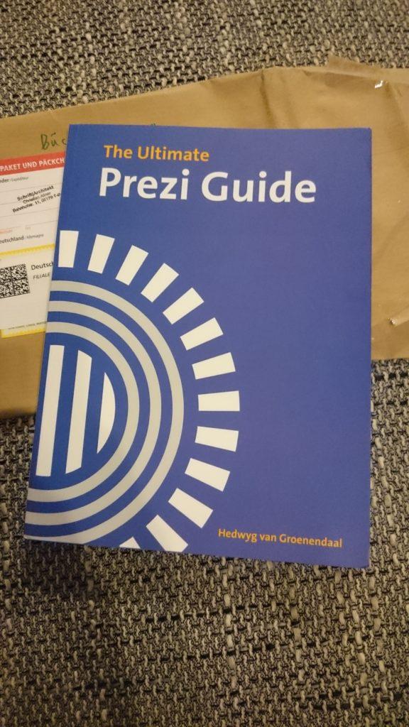 Anja hat beim ersten Onlinegeister-Gewinnspiel den Ultimate Prezi Guide ergattern können